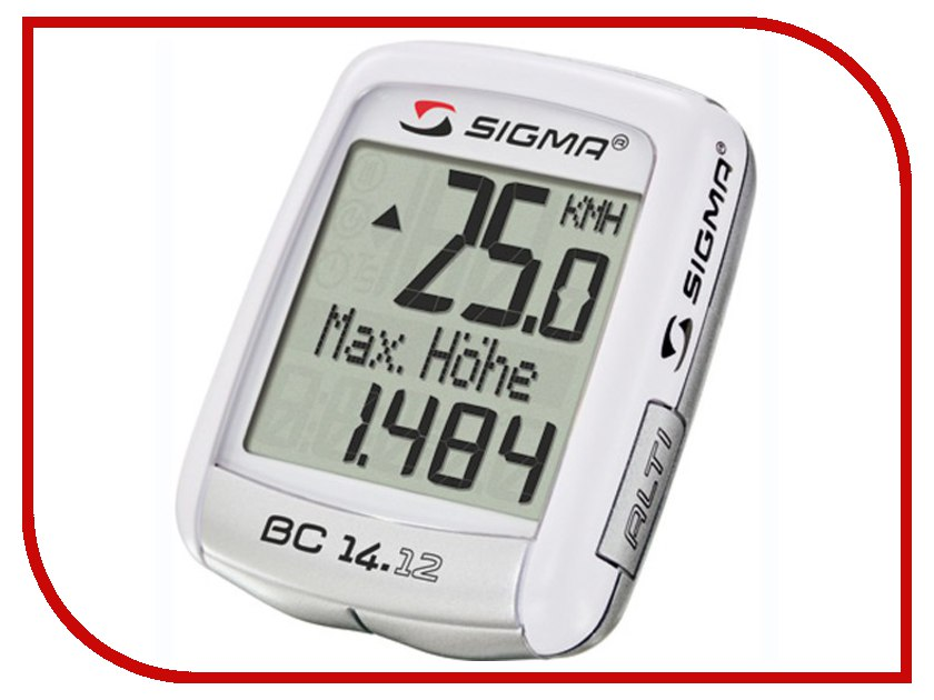 Велокомпьютер Sigma BC 14.12 NSI04150