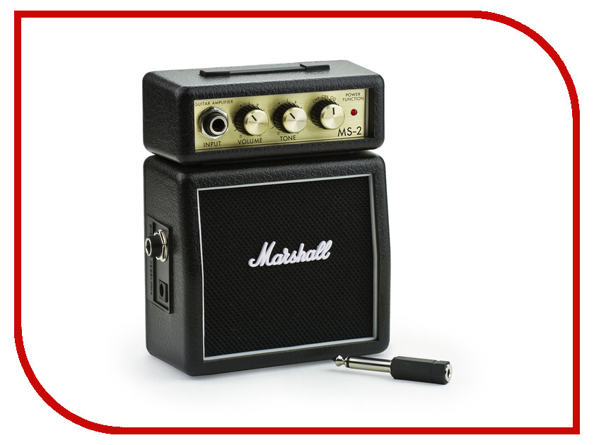 Комбо-усилитель Marshall MS-2 Micro Amp Black sunspice ms black