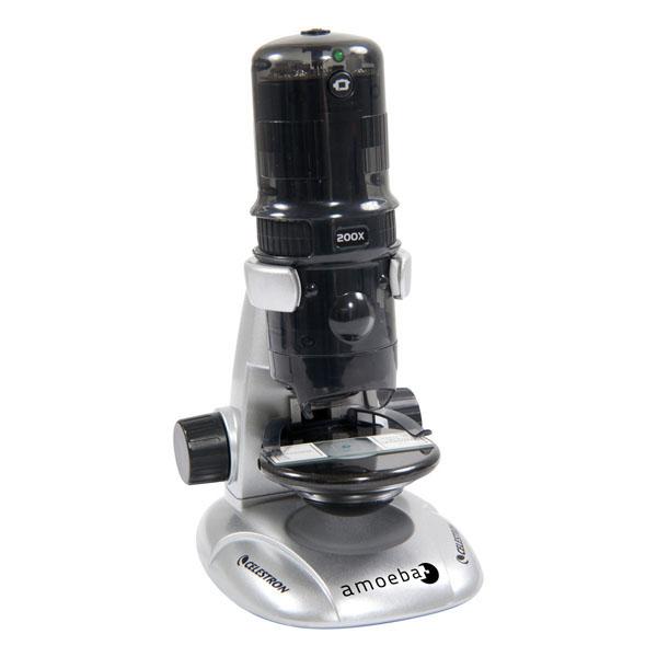 Микроскоп Celestron Amoeba Grey 44326<br>