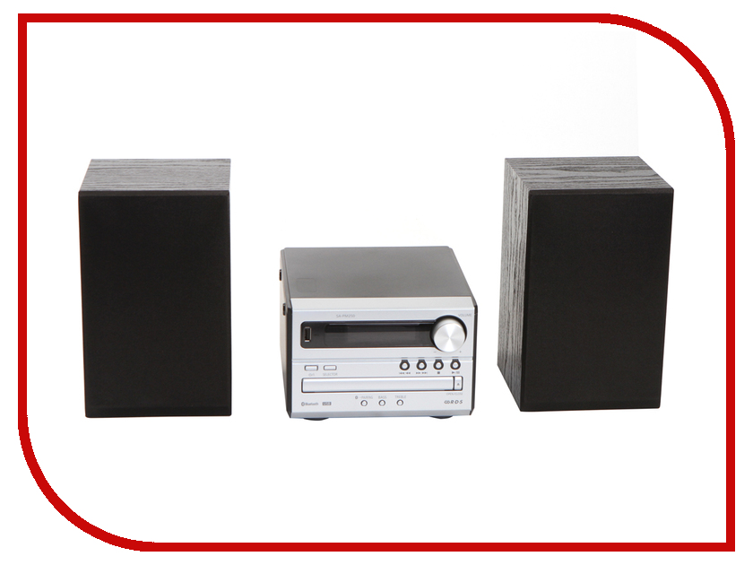 Минисистема Panasonic SC-PM250 Silver SC-PM250EE-S микросистема panasonic sc pm250