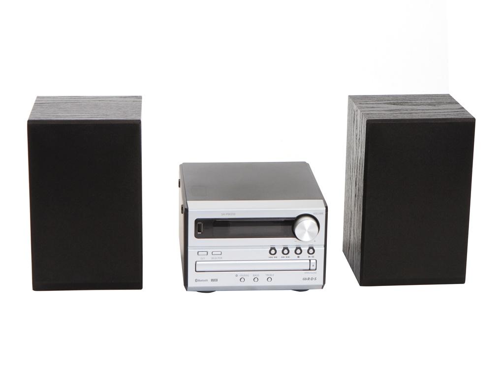 Минисистема Panasonic SC-PM250 Silver SC-PM250EE-S