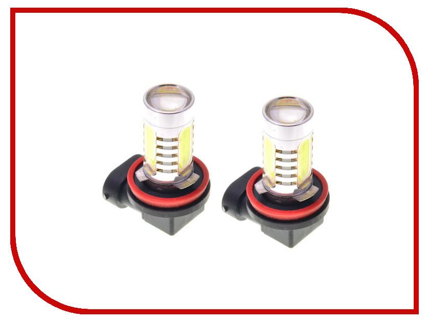 Лампа DLED H11 6W + Линза 732