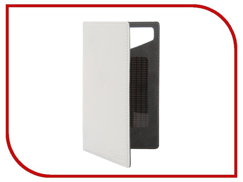 Аксессуар Чехол-книжка ST Case 5.5-6-inch иск. кожа White ST-c-SM5.5-6-WHT-LTH<br>