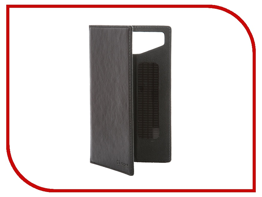 Аксессуар Чехол-книжка ST Case 5.5-6-inch иск. кожа Black ST-c-SM5.5-6-BRN-LTH<br>
