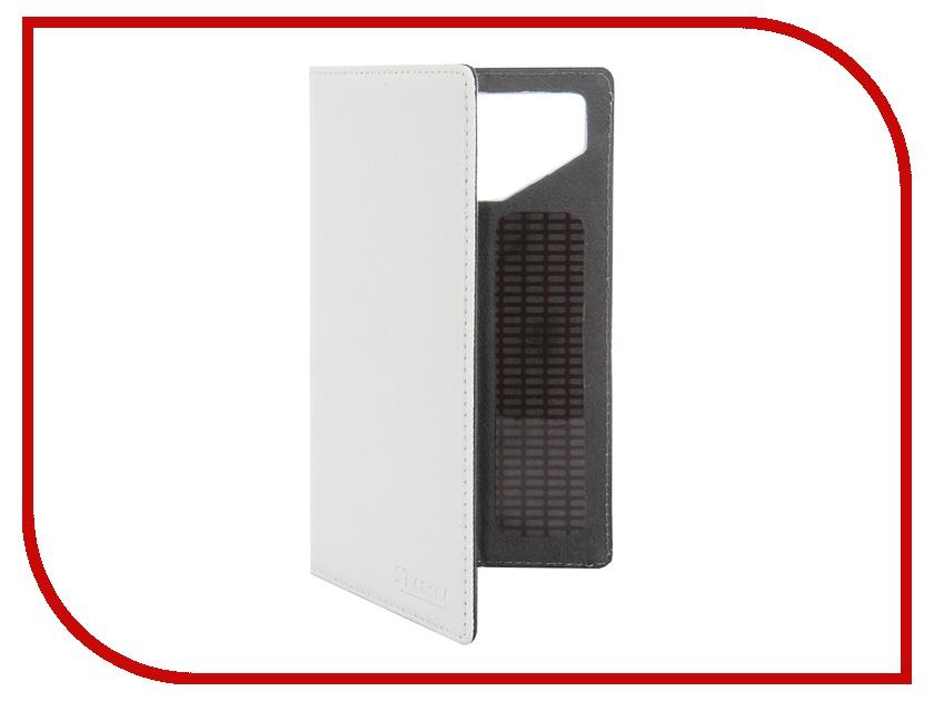 Аксессуар Чехол-книжка ST Case 4.6-5-inch иск. кожа White ST-c-SM4.6-5-WHT-LTH