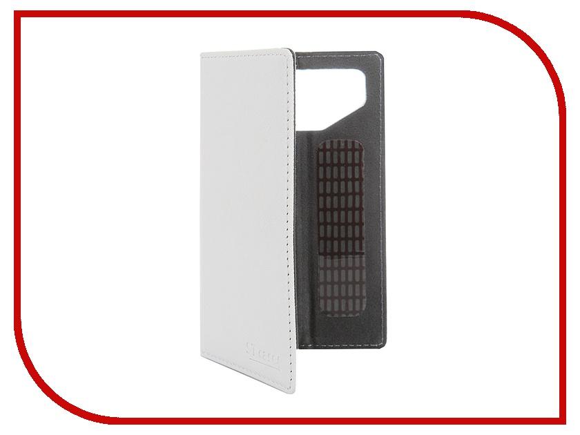 Аксессуар Чехол-книжка ST Case 4.3-4.5-inch иск. кожа White ST-c-SM4.3-4.5-WHT-LTH<br>