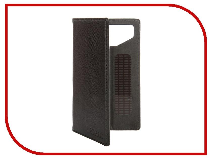 Аксессуар Чехол-книжка ST Case 4.3-4.5-inch иск. кожа Black ST-c-SM4.3-4.5-BRN-LTH<br>