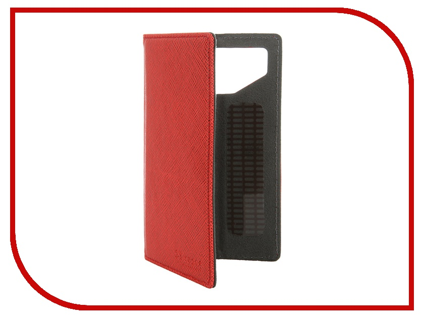 Аксессуар Чехол-книжка ST Case 4-4.2-inch иск. кожа Red ST-c-SM4-4.2-RED-LTH