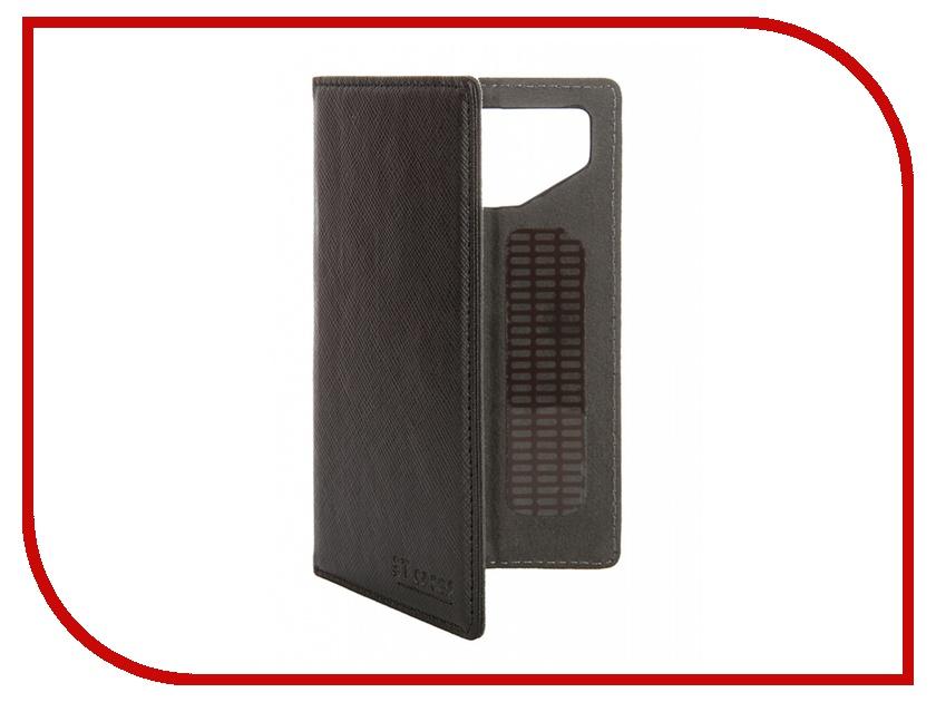 Аксессуар Чехол-книжка ST Case 4-4.2-inch иск. кожа Black ST-c-SM4-4.2-BRN-LTH<br>