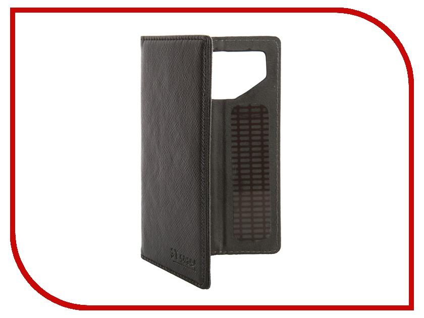 Аксессуар Чехол-книжка ST Case 3.5-3.9-inch иск. кожа Black ST-c-SM3.5-3.9-BLK-LTH