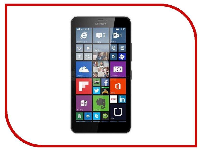 Сотовый телефон Microsoft 640 Lumia LTE Dual Sim White<br>