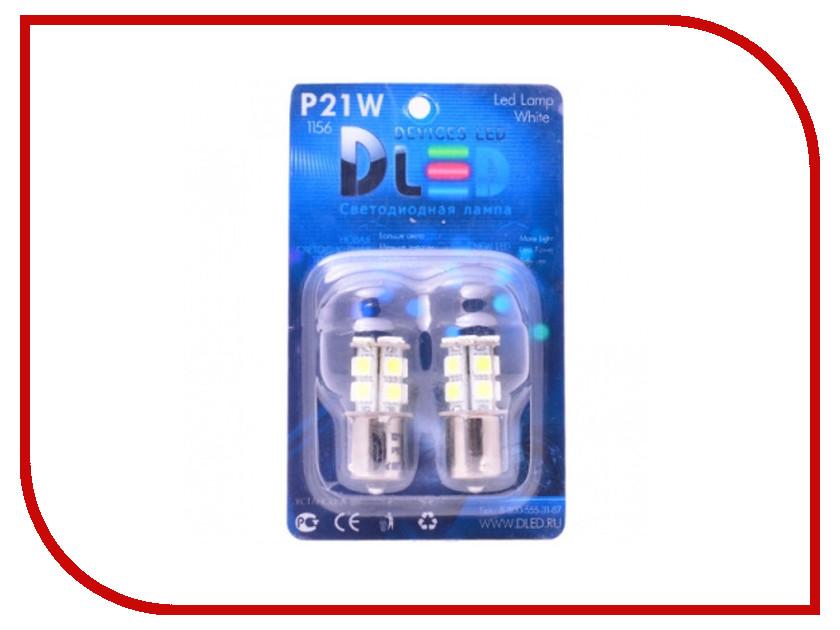 Лампа DLED 1156 PY21W S25 BA15S 13 SMD 5050 435 (2 штуки)