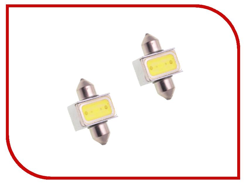 Лампа DLED C5W FEST 31mm SV8,5 1HP-1,5W 725 (2 штуки)
