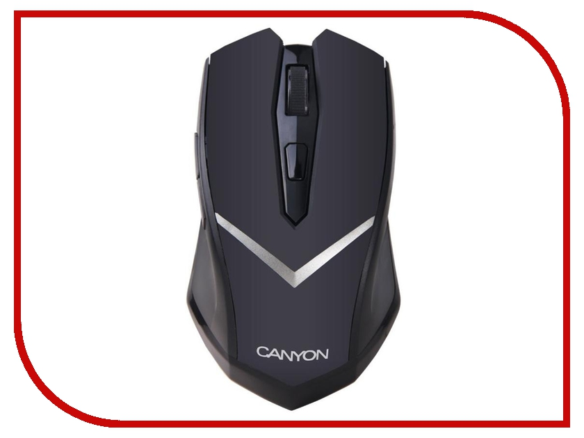 Мышь Canyon CNE-CMSW3 USB Black canyon мышь canyon cne cms1