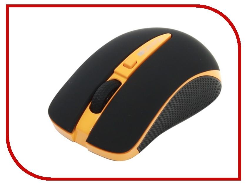 Мышь Canyon CNS-CMSW6O USB Black-Orange canyon cns mficab01 green дата кабель apple lightning