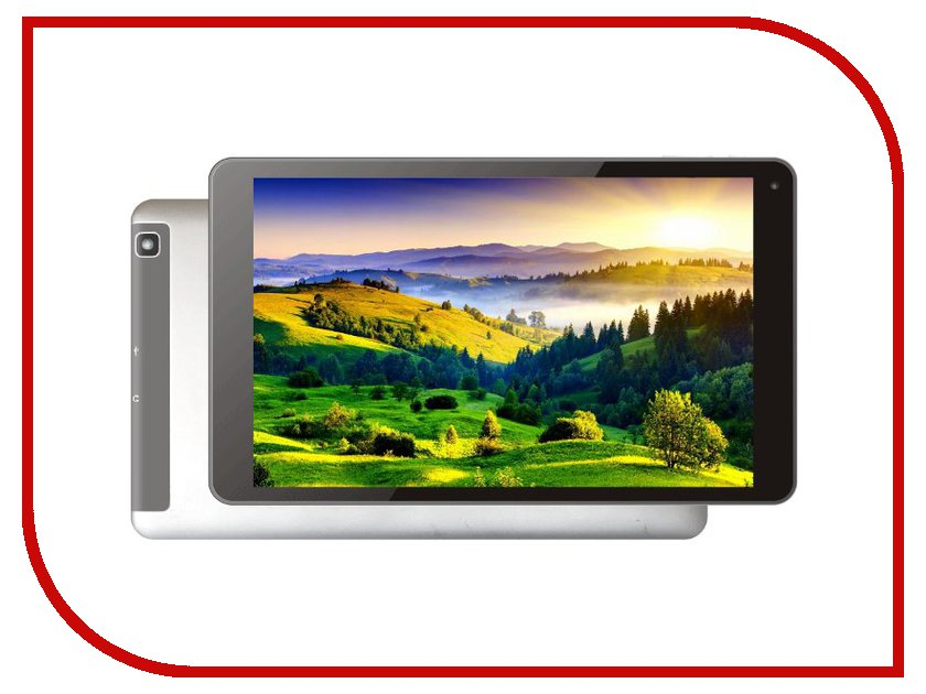 Планшет Perfeo 9682-3G PATS96823G (MTK8382 1.3 GHz/1024Mb/8Gb/Wi-Fi/Bluetooth/3G/GPS/Cam/9.6/1280x800/Android Silver