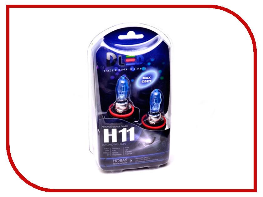 Лампа DLED H11 Evolution White 2877 (2 штуки)