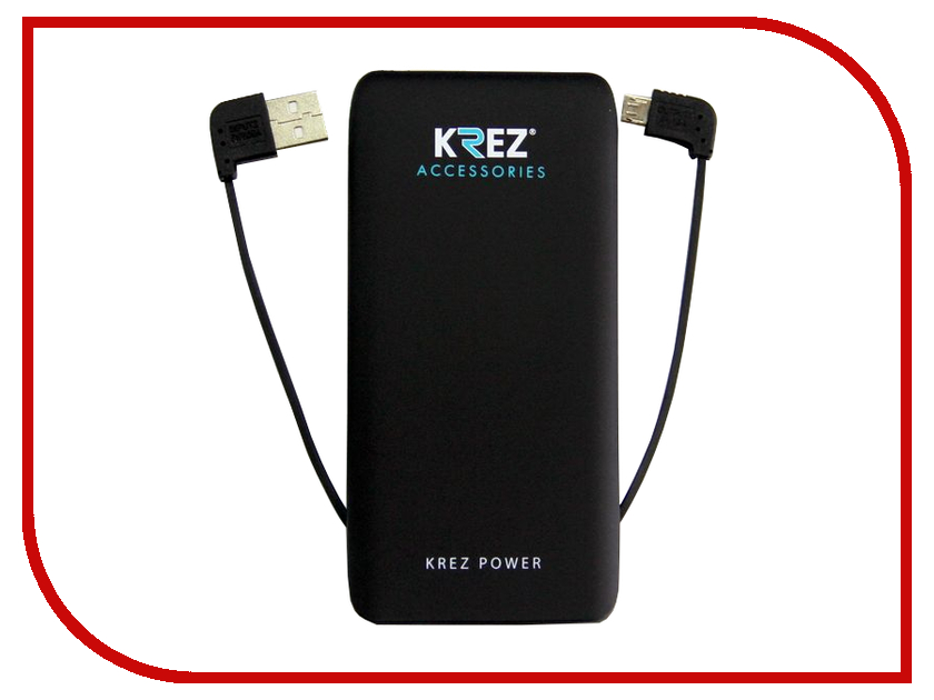 Аккумулятор KREZ Power 5000mAh Black LP5001B
