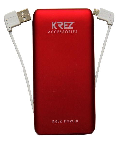 Аккумулятор KREZ Power LP5001R 5000 mAh Red