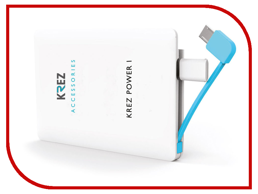 Аккумулятор KREZ Power LP2501W 2500 mAh White<br>