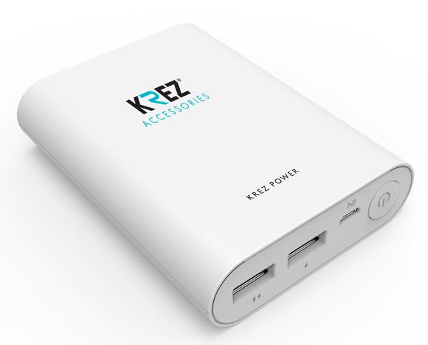 Аккумулятор KREZ Power LP10001W 10000 mAh White