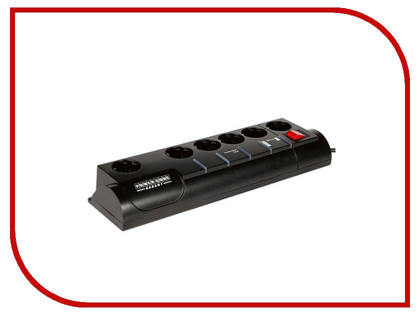 Сетевые фильтры и удлинители Garant 3.0m 5+1  Сетевой фильтр Power Cube Garant 5+1 Socket 3m SISN-2-Black-10