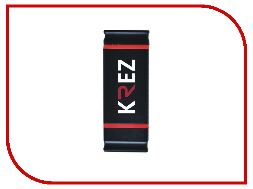 USB Flash Drive 8Gb - KREZ micro 501 Black-Red KREZ501BR8