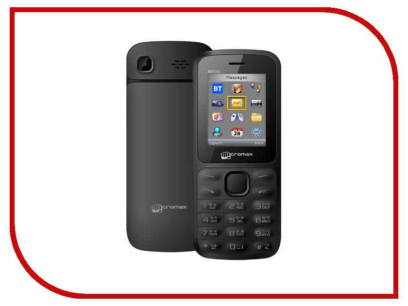 Сотовый телефон Micromax X1800 Joy Black сотовый телефон micromax q326 champagne