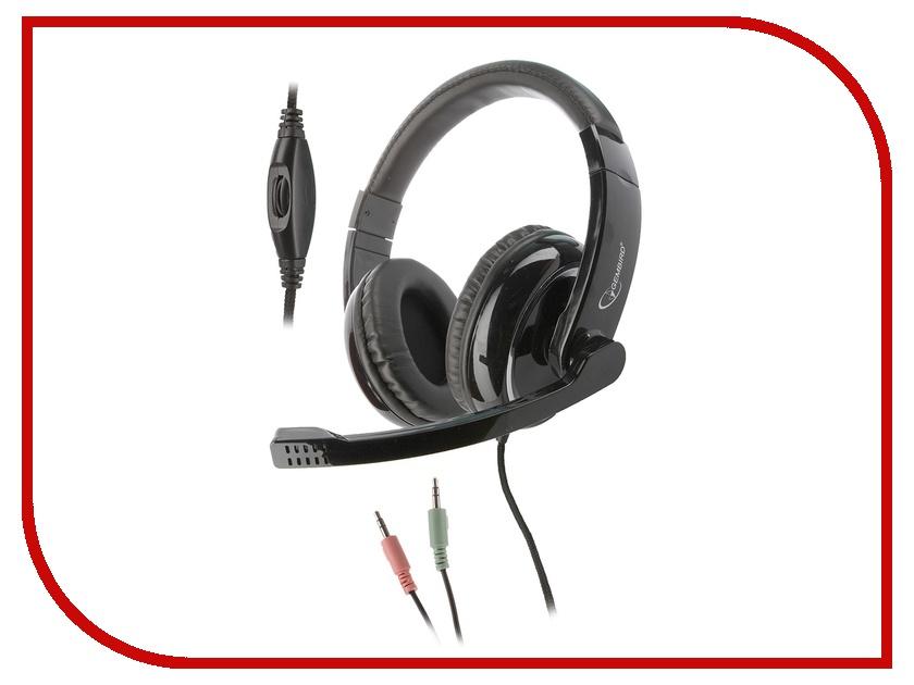 Гарнитура Gembird MHS-800 Black<br>