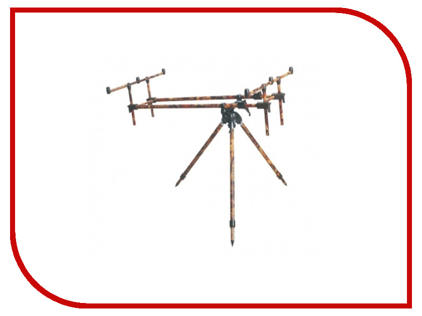 Подставка Hoxwell HL202 Rod Pod free shipping mpc 702h 2pcs casting rod 24t im6 carbon fishing rod legend 702 casting fishing rods 2 10m dual tips h power