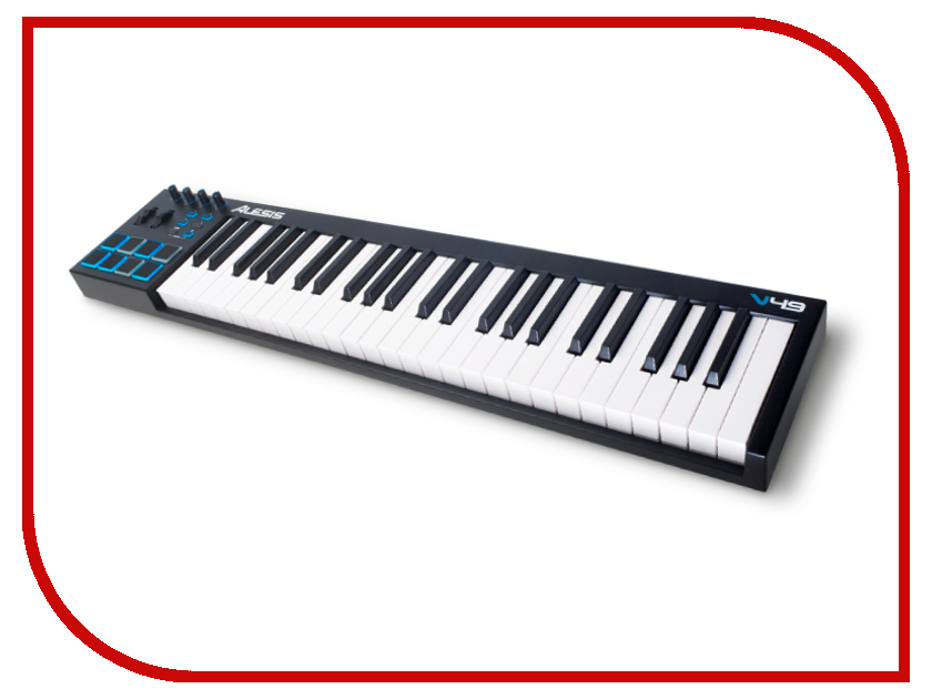 MIDI-клавиатура Alesis V49 экооснование roll matratze hamburg 80х190х36 4 см