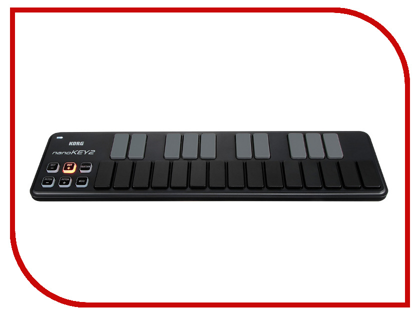 MIDI-клавиатура KORG nanoKEY2 Black korg aw otg