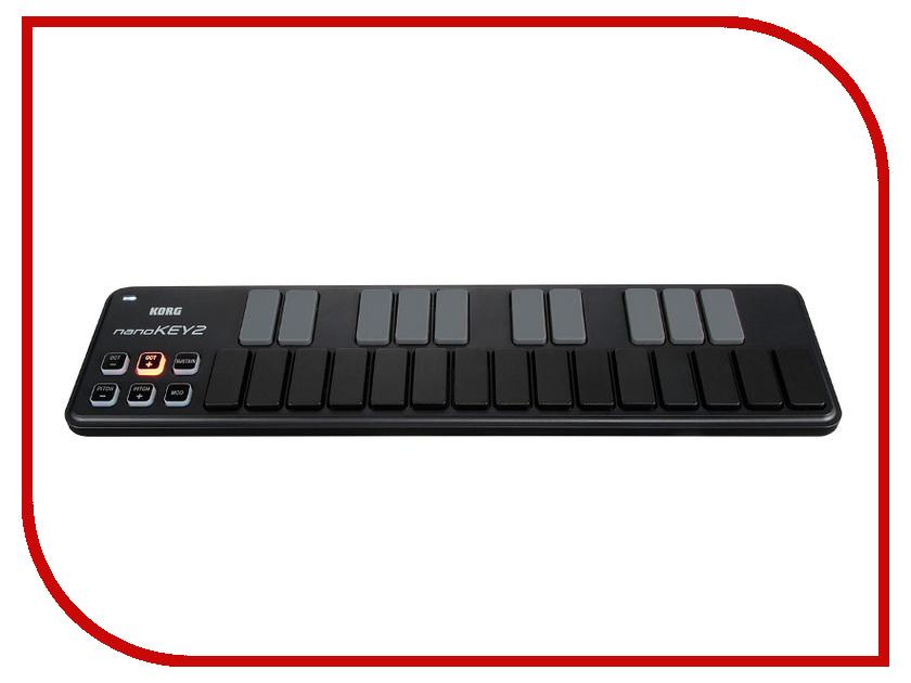 MIDI-клавиатура KORG nanoKEY2 Black