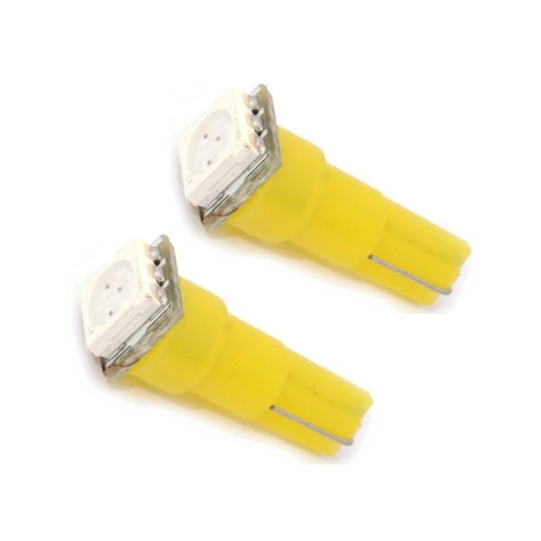 Светодиодная лампа DLED T5 1 SMD 5050 Yellow 1304 (2 штуки)<br>