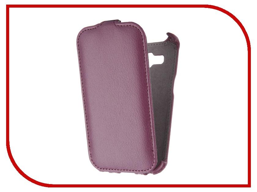 Аксессуар Чехол Samsung SM-G360 Galaxy Core Prime Gecko Purple GG-F-SGCPRI-PUR<br>