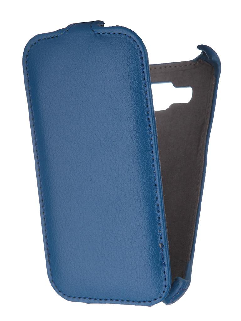 Аксессуар Чехол Samsung SM-G360 Galaxy Core Prime Gecko Blue GG-F-SGCPRI-DBLU<br>