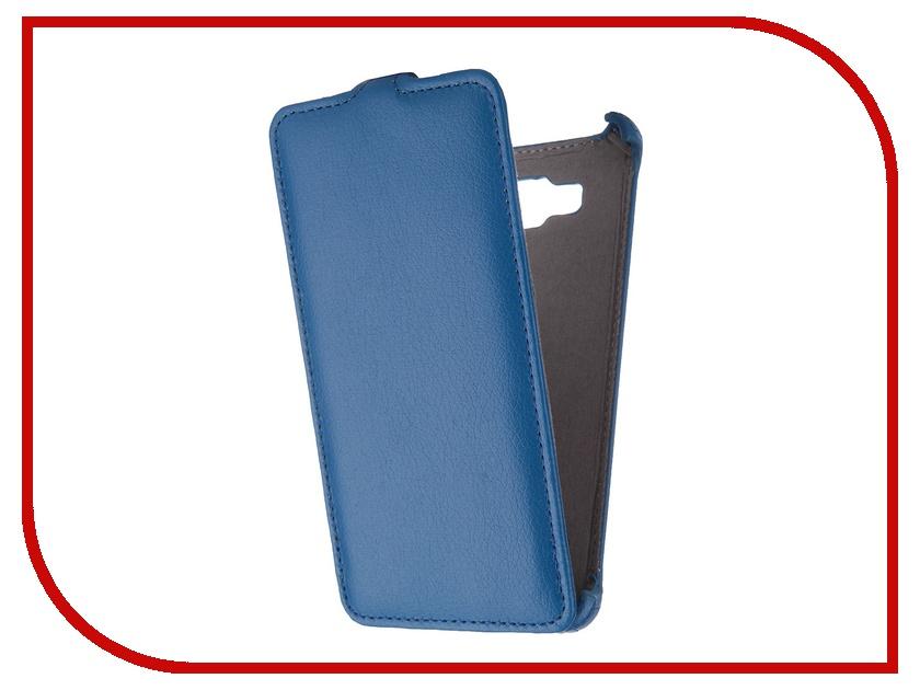 Аксессуар Чехол Samsung Galaxy A7 Gecko Blue GG-F-SGA7-DBLU аксессуар чехол samsung galaxy a7 2016 armor air slim white gb f sga7 2016 wh