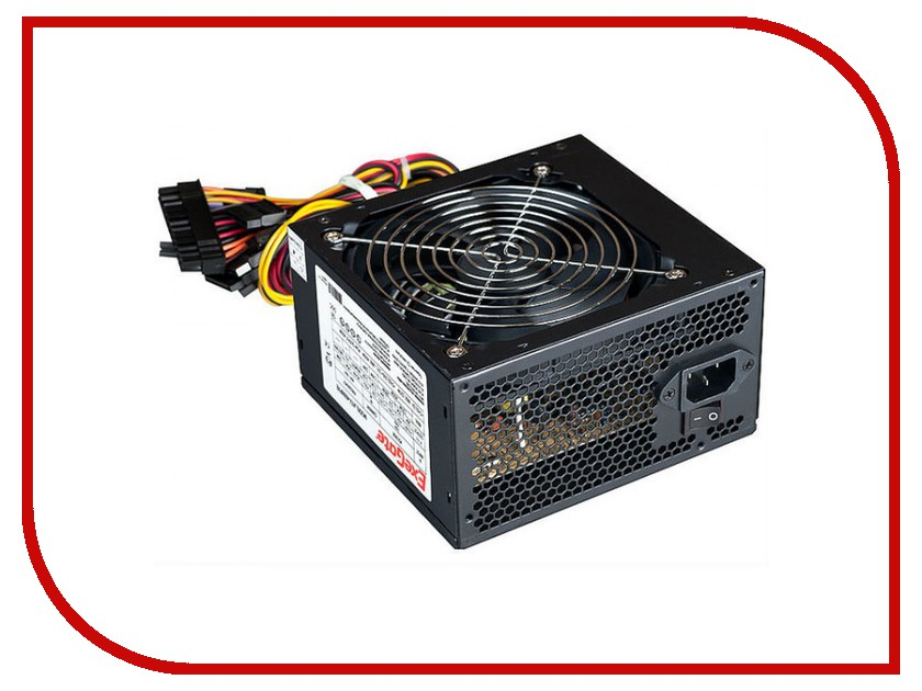 Блок питания ExeGate ATX-700PPX 700W Black 220362 max 700w psu atx 12v gaming pc power supply 24pin pci sata atx 700 walt 12cm fan new computer for btc