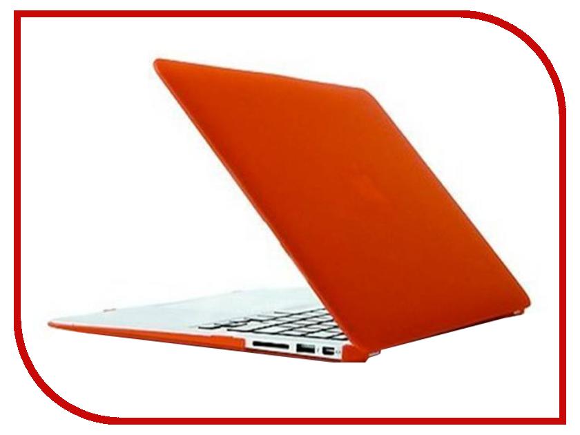 Аксессуар Чехол MacBook Pro 13 Retina Daav Orange D-MBPR13-RFC
