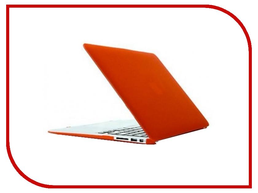 Аксессуар Чехол MacBook Pro 13 Retina Daav Red D-MBPR13-RFC