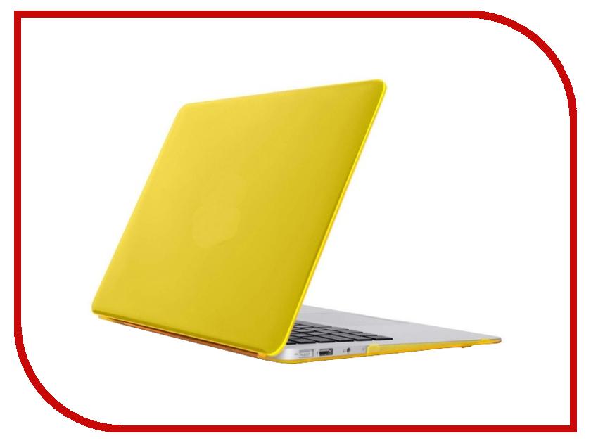 Аксессуар Чехол MacBook Air 11 Daav Yellow D-MBA11-RFC