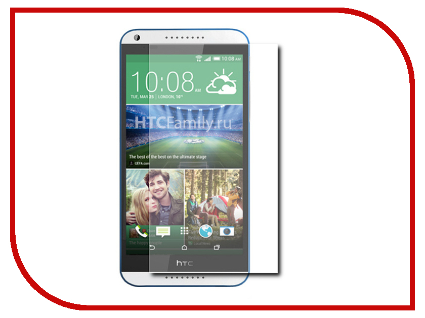 Аксессуар Защитное стекло HTC Desire 820 Onext 40916 аксессуар защитное стекло onext eco для iphone 7 plus 43111