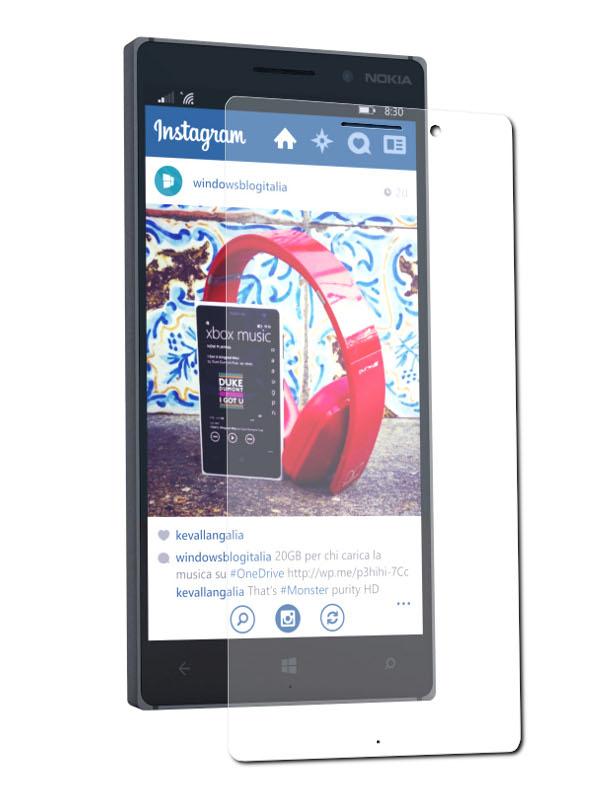 Аксессуар Защитное стекло Nokia Lumia 830 Onext 40923
