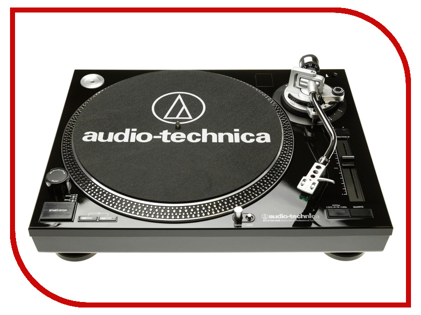 цена на Проигрыватель виниловых дисков Audio-Technica AT-LP120 USB HS10 Black