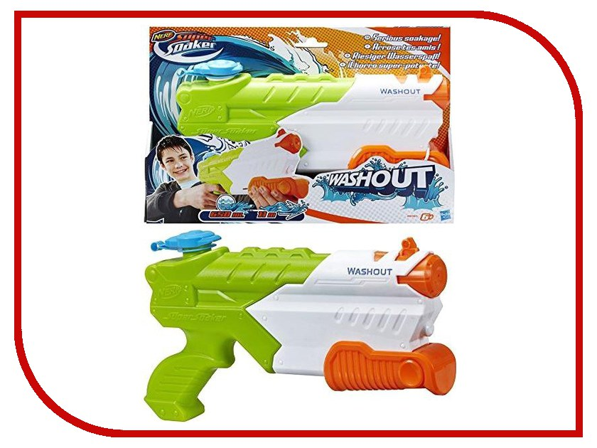 Игрушка для активного отдыха Hasbro NERF Super Soaker Смыватель A9465