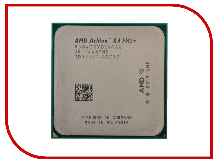Процессор AMD Athlon X4 840 AD840XYBI44JA OEM (3100MHz/FM2+/4096Kb) процессор amd athlon x4 840 ad840xybjabox socket fm2 box