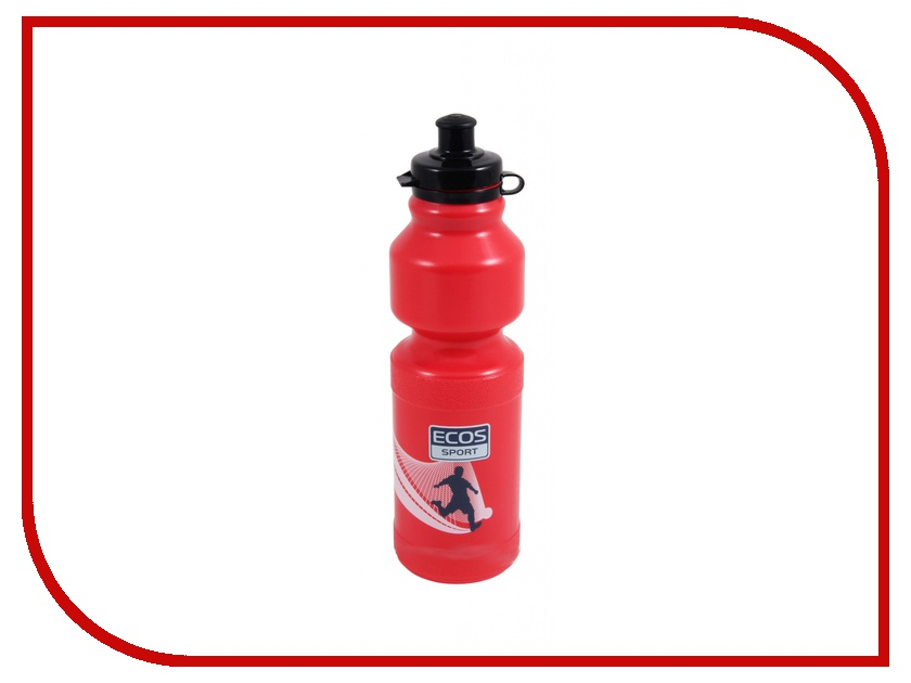 Фляга Ecos VEL-25 750ml Red