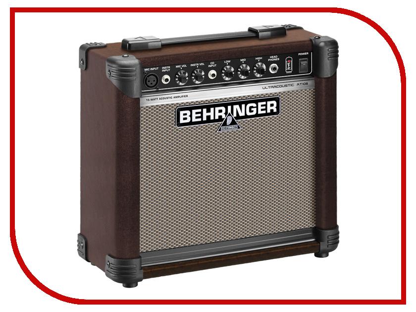 Комбо-усилитель Behringer AT 108 Ultracoustic комбо усилитель roland cube 10gx