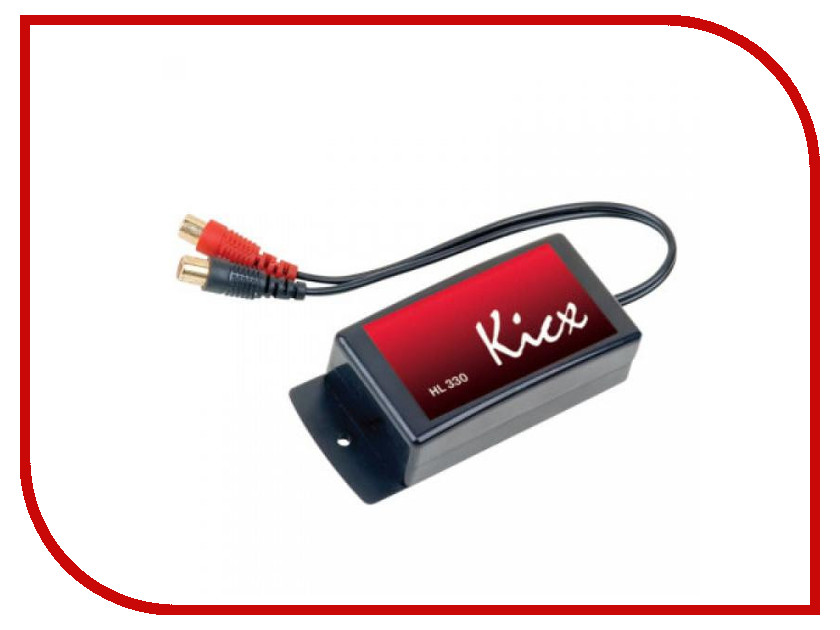 Аксессуар Kicx HL 330 - преобразователь сигнала автоакустика kicx stc 502