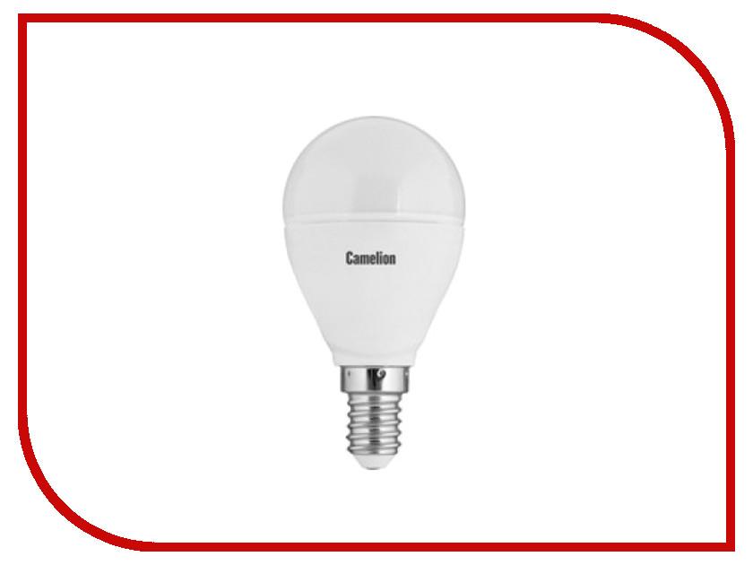 Лампочка Camelion G45 7.5W 220V E14 3000K 645 Lm LED7.5-G45/830/E14<br>